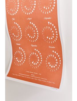 2020 Moon Phase Large 12 Month Wall Calendar by Urban Outfitters
