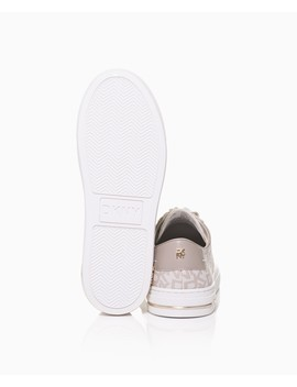 Court Metal Detail Logo Lace Up Sneaker by Dkny