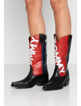 Heritage Cowboy Boot   Cowboy/Biker Boots by Tommy Jeans
