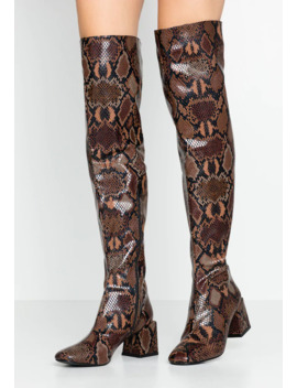 Lola Skye Laela High Shaft Boot   Over The Knee Boots by Dorothy Perkins