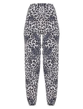 White Snow Leopard Skinny Trouser by Prettylittlething