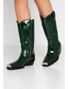 Eagles   Cowboy/Biker Boots by Jeffrey Campbell