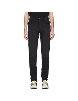 Black 'l'homme Athletic' Jeans by Frame