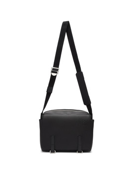 Black Small Military Messenger Bag by Loewe