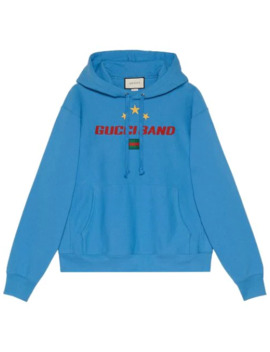 Gucci Band Print Hoodie by Gucci