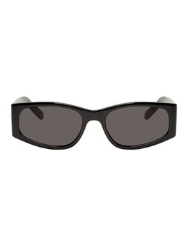Black Sl 329 Sunglasses by Saint Laurent