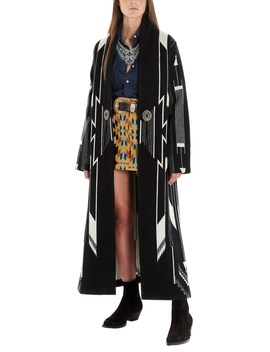 Jaquard Coat by Jessie Western