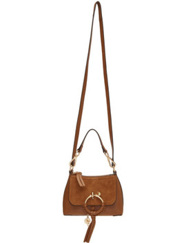 Brown Mini Joan Bag by See By ChloÉ