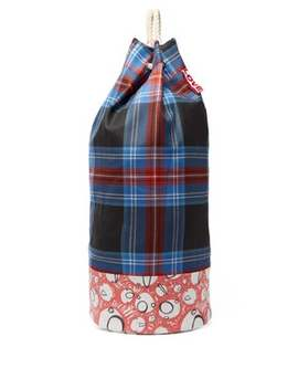 Screaming Suns Tartan Rope Duffle Bag by Charles Jeffrey Loverboy