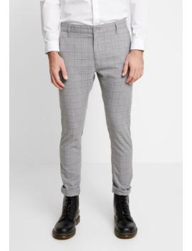 Stretch Check   Spodnie Materiałowe by Cotton On