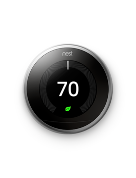 Google Nest Learning Thermostat   3rd Generation   Copper by Google