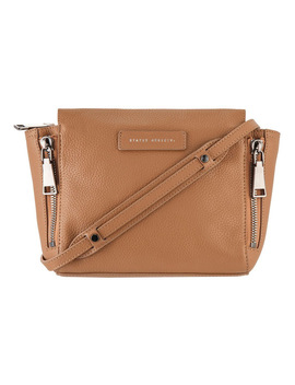 Sa7226 The Ascendants Zip Top Crossbody Bag by Status Anxiety