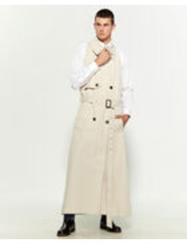 Halterneck Mac Coat by Martine Rose
