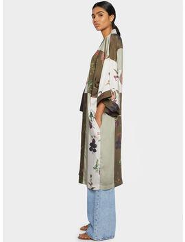 Kimono Stampa Floreale by Parafois