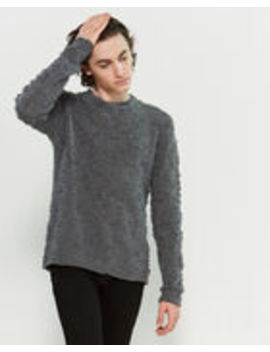 Texture Long Sleeve Sweater by Nuur