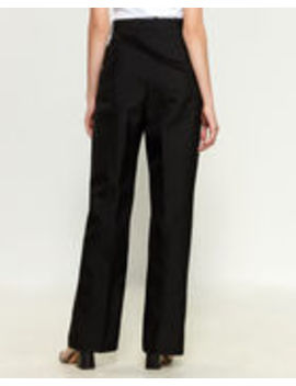 Asymmetrical Strap Trousers by Jil Sander