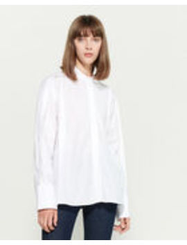 Folded Seam Shirt by Jil Sander