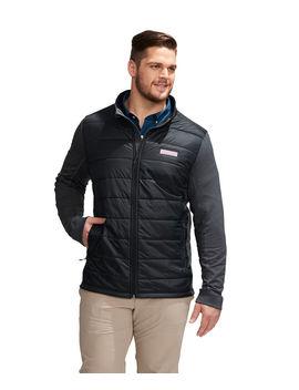 Big & Tall Hybrid Full Zip Jacket by Vineyard Vines