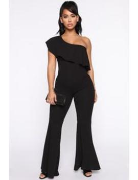 Be Who I Am Jumpsuit   Black by Fashion Nova