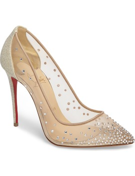 Follies Strass Pump by Christian Louboutin