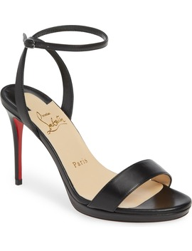 Loubi Queen Sandal by Christian Louboutin