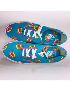 Vans Authentic Odd Future Donut Scuba Blue Sneaker by Vans  ×  Odd Future  ×