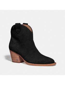 Paige Western Bootie by Coach