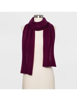 Women's Cashmere Oblong Scarf   A New Day™ by A New Day