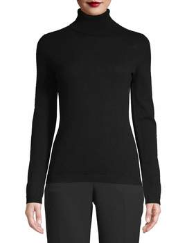 Saffron Women's Cashmere Turtleneck Sweater by Saffron