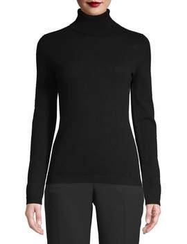 Saffron Women's Cashmere Turtleneck Sweater by Saffron