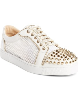 Vieira Spiked Low Top Sneaker by Christian Louboutin