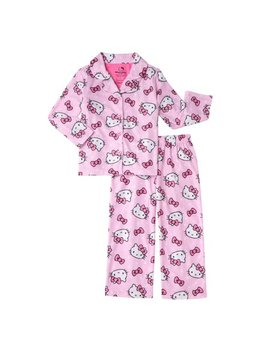 Hello Kitty Girl's 2 Piece Pajama Coat Set (Little Girls & Big Girls) by Hello Kitty