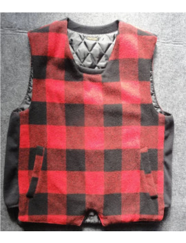 Kapital Red Checkered Vest by Kapital  ×
