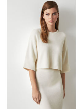 Rib Knit Crop Top by Bcbgmaxazria