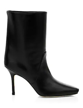 Ebb Leather Ankle Boots by Stuart Weitzman