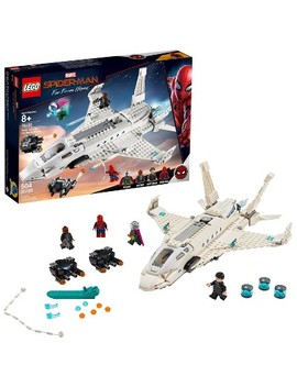 Lego Super Heroes Marvel Spider Man Stark Jet And The Drone Attack 76130 by Lego