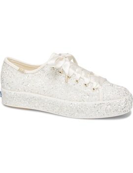 Keds® X Kate Spade New York Triple Kick Allover Glitter Sneaker by Keds® For Kate Spade New York