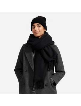 The Wool Cashmere Blanket Scarf by Everlane