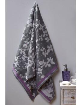 Vintage Floral Towel by Next