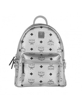 Stark Backpack Berlin Silver by Mcm