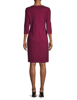 Tweed Sheath Dress by St. John Collection