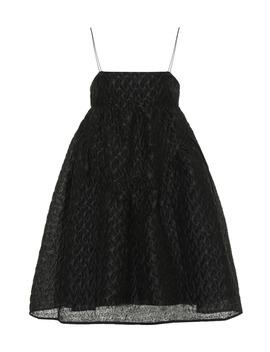 Elin Linen Blend Mini Dress by Cecilie Bahnsen