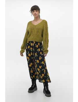 Uo Pointelle Batwing Jumper by Urban Outfitters