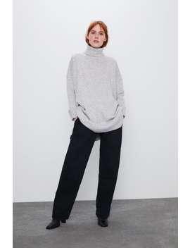 Oversize Kjole I Myk Finish by Zara