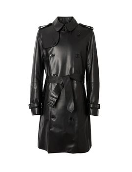 Lambskin Trench Coat by Burberry