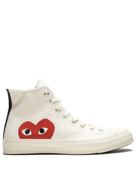 Sneakers Alte 'play' X Converse by Comme Des Garçons Play