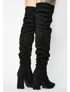 Zora Over The Knee Boots by Public Desire