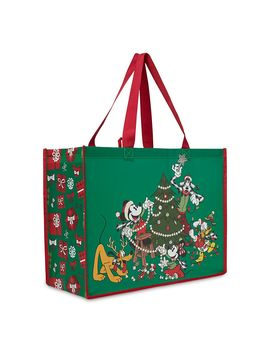 Mickey Mouse And Friends Reusable Tote – Holiday 2019 | Shop Disney by Disney