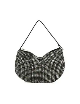 Wangloc Fortune Cookie Rhinestone Pouch by Alexander Wang