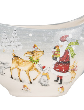 Whimsical Gravy Boat by Christmas Kitchen